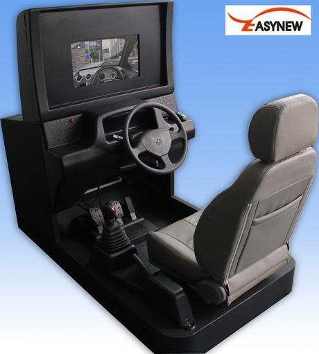 供应/生产19英寸汽车模拟器,3D汽车驾驶模拟器