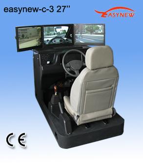 27寸3屏汽车模拟器