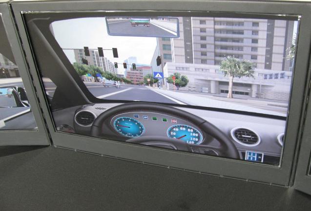 汽车模拟器的驾驶训练
