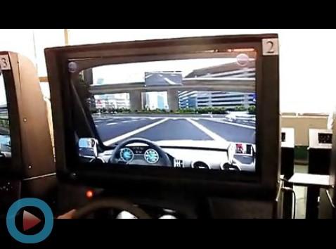 【视频】在线联网汽车模拟驾驶器学车练习、考试(驾校必备)