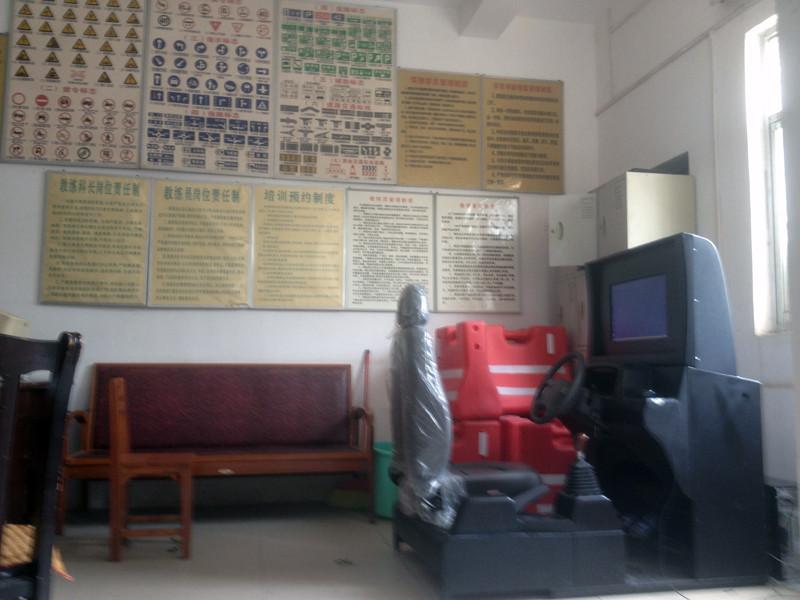 广西壮族南宁市永兴驾校汽车驾驶模拟训练室