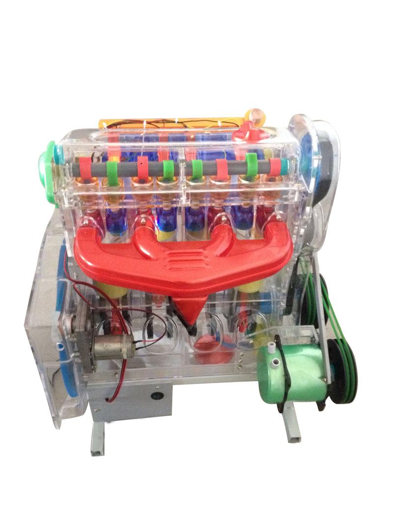 汽车发动机透明解剖模型