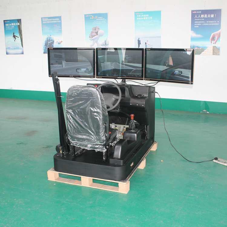 北京客户订制三屏汽车模拟驾驶器按时发货