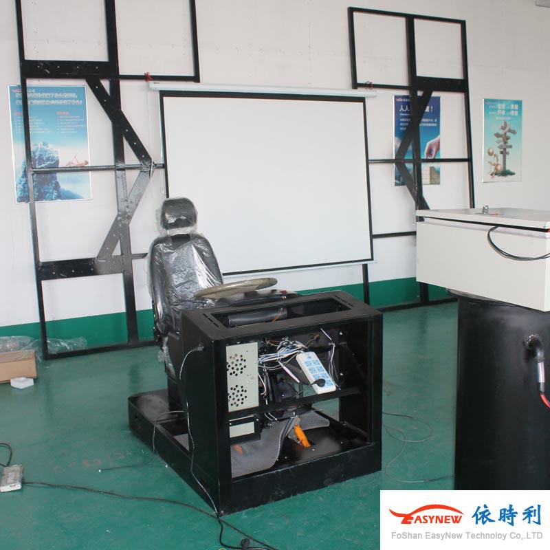 投影仪汽车模拟器,可接外部显示屏汽车模拟器