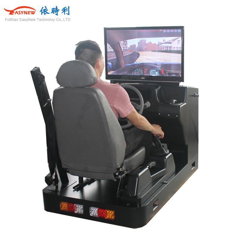 真实汽车模拟器 学习模拟驾驶器 单屏模拟驾驶训练机厂家