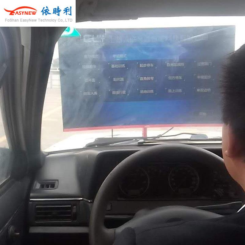 渭南市红旗驾校学车模拟器,真车改装汽车驾驶模拟器