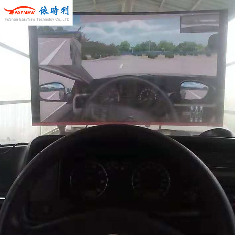 供应动感型(Ⅲ级)汽车驾驶模拟器 计学时的模拟器