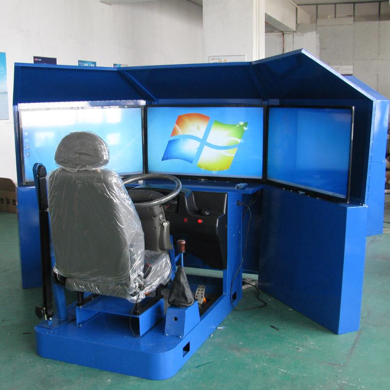 三自由度汽车模拟器,三屏显示器模拟器